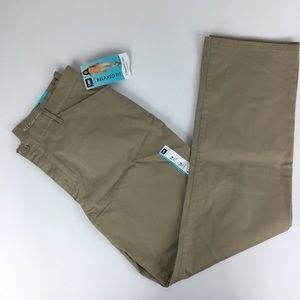 NWT Lee relaxed fit straight leg khaki pants 14L